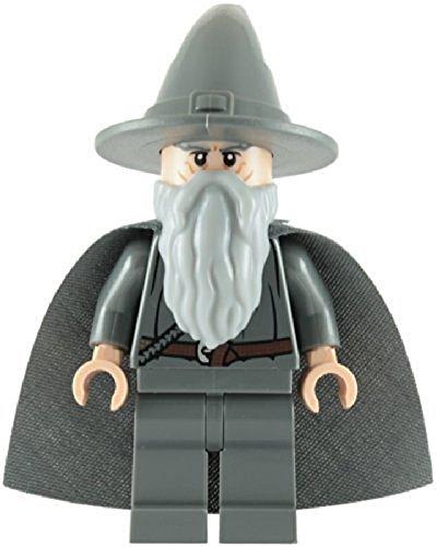 LEGO El Señor De Los Anillos: Gandalf La Gris Minifigura Con Gris Capa 1