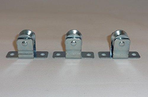 3cantidad: de metal polea/guía de cable: para Roman y otros tonos y más.