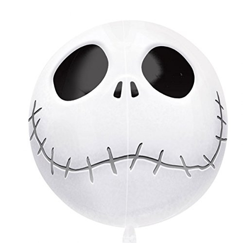 Unbekannt Anagram Jack Skellington Nightmare Before Christmas 3D Orbz Folienballon