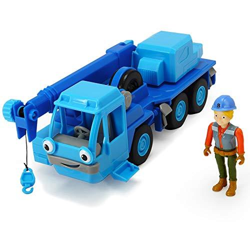 #1018 Bob der Baumeister Wendy Figur inklusive Heppo mit Sprachfunktion • Spielzeug Fahrzeuge Set Sound Kran Wagen