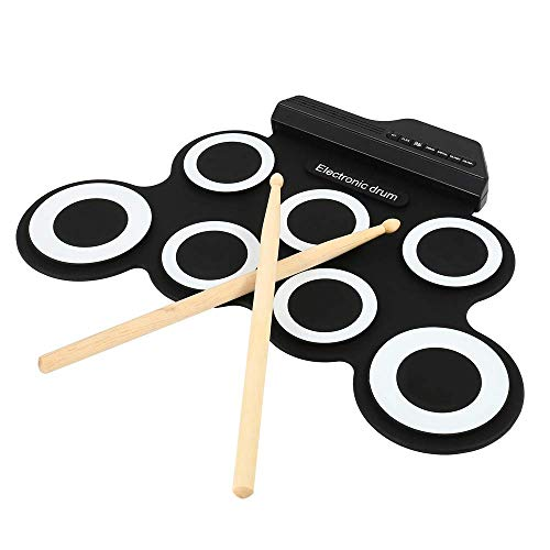 Lzour Digital Electronic Drum Kit Roll Up