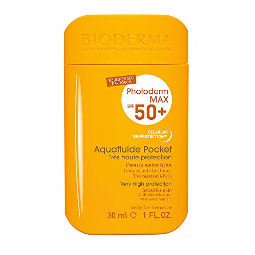 Bioderma - Protección solar photoderm max aquafluide pocket incoloro spf 50+ uva24