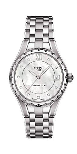 Tissot Orologio Analogico Automatico Donna con Cinturino in Acciaio Inox T072.207.11.116.00
