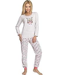 Merry Style Damen Schlafanzug 980