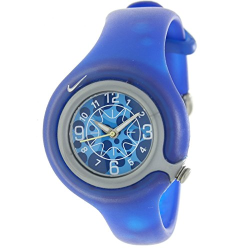 NIKE WK0003-406 - Reloj Nike KIDS SPORTWARE Reloj Analógico para Niño/a - Caucho color Azul