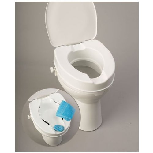 Russka - Rialzo per WC, Bidet incluso (Set)