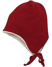 Reiff Baby Kinder bio Ohrenmütze aus Merino-Schurwolle kbT.