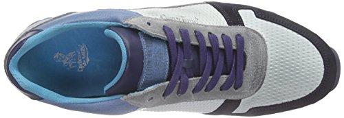 Cycleur De Luxe Dallas, Sneakers Hautes Homme, Gris Blau (JEANS BLUE + OFF WHITE + NAVY + LIGHT GREY)
