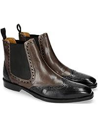 Amazon.es  Gris - Botas   Zapatos para hombre  Zapatos y complementos e66fc55ce3c