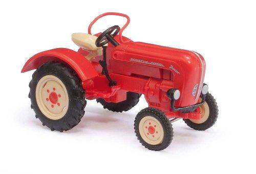 Busch cars - buv50000 - railway modelling - trattore porsche junior k 1957
