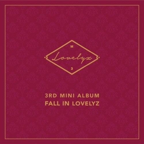 Lovelyz - [Fall In Lovelyz] 3rd Mini Album CD+Booklet+PhotoCard+PhotoSticker K-POP Sealed - Ballen Cover