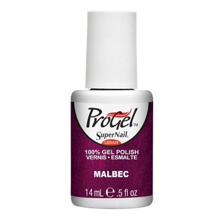 SuperNail ProGel LED/UV Vernis à Ongles - Malbec - 14ml