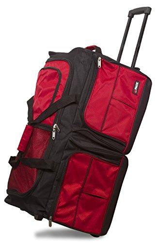 b10a939e85 Hipack 28-Inch Carry-on Rolling Duffle Duffel Bag
