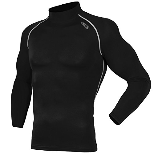 drskin-sb011-compression-tight-shirt-base-layer-running-shirt-men-women-l