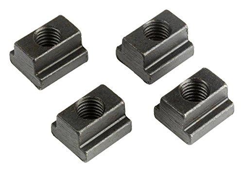 WABECO T-Nutensteine für T-Nutenbreite 10 mm Gewinde M8 T-Nutensteine Spanneisen Spannwerkzeug