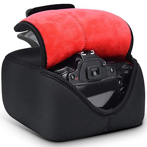 Kameratasche, CADeN DSLR Schutzhülle Spiegelreflexkameras Neopren wasserdicht für Canon Nikon und Sony (L) (Wasserdicht Canon 60d)