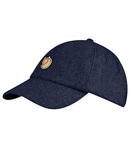 FJÄLLRÄVEN Övik Wool Cap Schirmmütze, Dark Navy, S/M