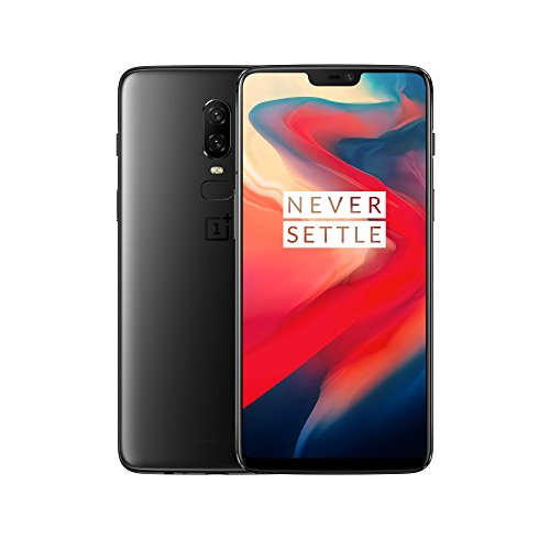 OnePlus 6 Midnight Black - 8GB RAM 128 GB Memory - Android Dual SIM