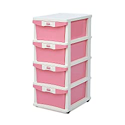 @home by Nilkamal Chest of Drawers (Pink)