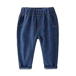 LAPLBEKE Pantalones para Ni...