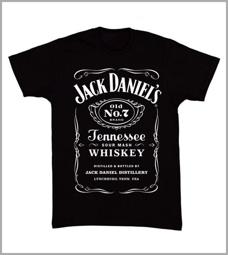 T-shirt uomo Jack Daniels