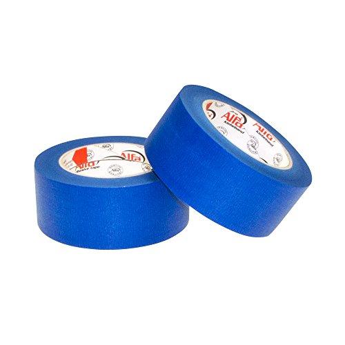 2x Alfa Blue Tape 50 mm x 50 m Trijexx 3D-Druck blaues Klebeband / Kreppband