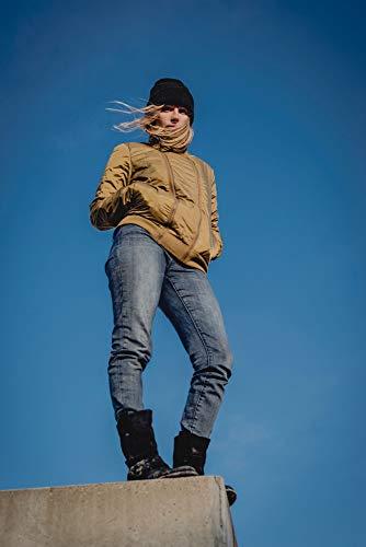THOKKTHOKK Damen Jacke Kapok Olivgrün Fair Vegan, Größe:S - 4