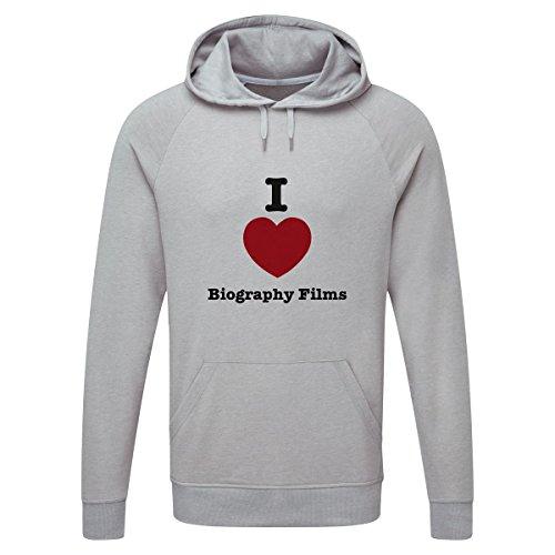 The Grand Coaster Company Love Biography Films Lightweight Hooded Sweatshirt