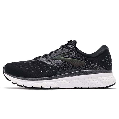 Brooks Glycerin 16, Scarpe Running Uomo, Nero (ReflectiveBlack/White/Black), 42.5 EU