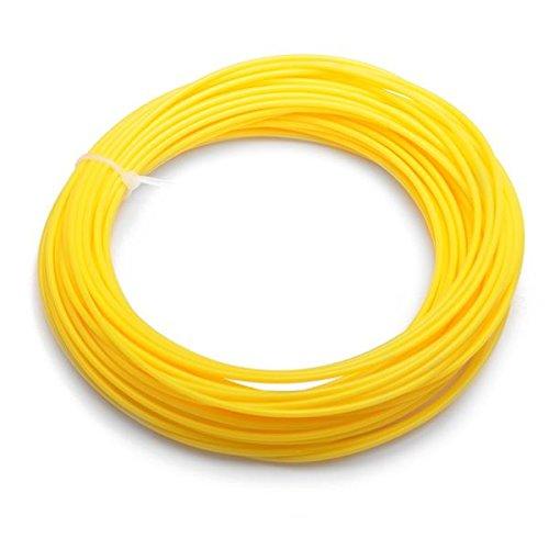 Preisvergleich Produktbild PLA 22M 1,75 mm Yellow Filament für 3D Printing Pen Printer Filament