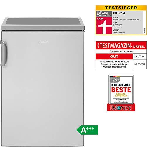 Bomann VS 2195 Vollraumkühlschrank / A+++ / 84.5 cm / 62 kWh/Jahr / 134 L Kühlteil