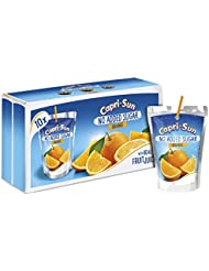 Capri-Sun No Added Sugar Orange Drink, 10 x 200 ml