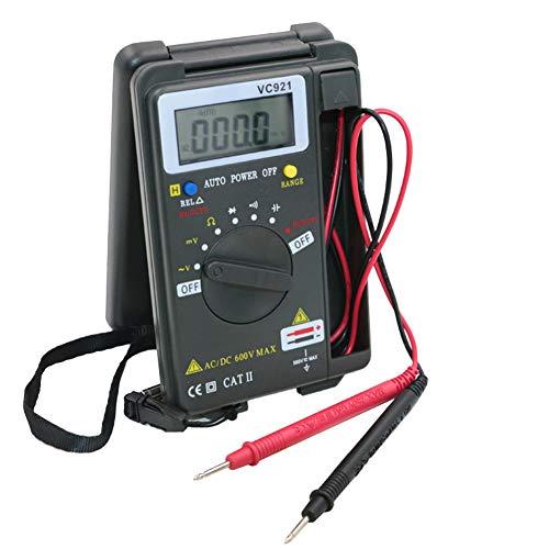 Multímetro Digital Profesional, Amperímetro de Voltaje de Bolsillo Multímetro Digital de Alta Precisión Automático de Alta Precisión