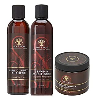 As I Am Naturally 3pcs Combo Deal (Curl Clarity Shampoo, Leave-In Conditioner, and Coconut CoWash)