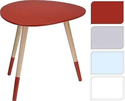 Wooden Wood Teardrop Shape Side Coffee Lamp Table Kids Children Furniture