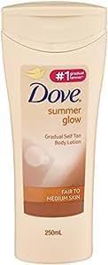 Dove Summer Glow Fair to Medium Nourishing Lotion, 250 ml