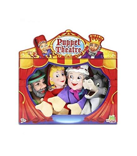 Set Titeres- Marionetas Caperucita Roja Fentoys