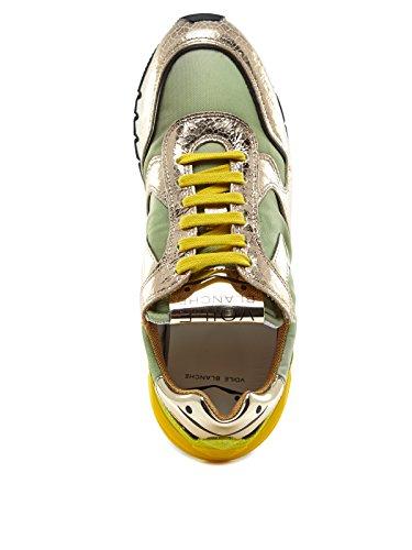 VOILE BLANCHE donna sneakers basse JULIA POWER oro-verde Oro-Verde