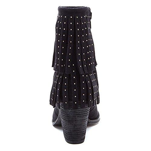 Coconuts By Matisse Flint Spitz Textile Mode-Stiefeletten Black