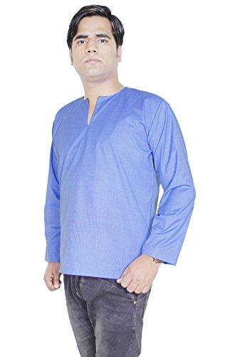 dress-shirt-long-sleeve-casual-regular-fit-blue-shirt-for-men-summer-dress-l
