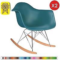 Amazonfr Fauteuil Rocking Chair Scandinave Voir Aussi Les