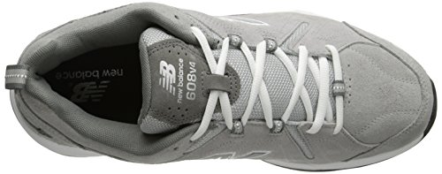 New Balance Men's MX608V4 Training Shoe,Brown,10 2E US Grey