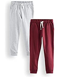 Marca Amazon - RED WAGON Pantalones Niños, Pack de 2