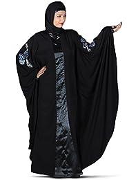 MyBatua Stylish Afsheen Abaya, Butterfly Kaftan Burqa