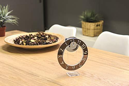 Wow Clock - Novita' Orologio Design Idea Originale Color Bronzo Bronze Blade