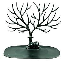 Joyero ciervo con forma de árbol Negro | Organizador de joyas | Regalos originales para ella | Envío gratis