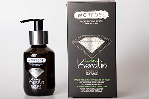 Morfose Luxury Keratin Öl Haaröl 100ml Complex Hair Care Oil Leave-in Haarpflege Treatment Haarkur...