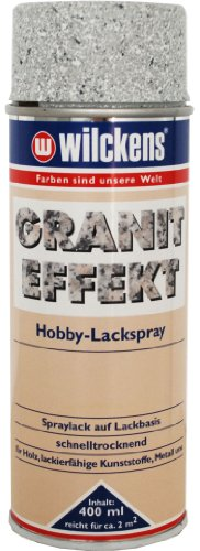 Wilckens Granit Effekt Spray Hellgrau Matt 400ml