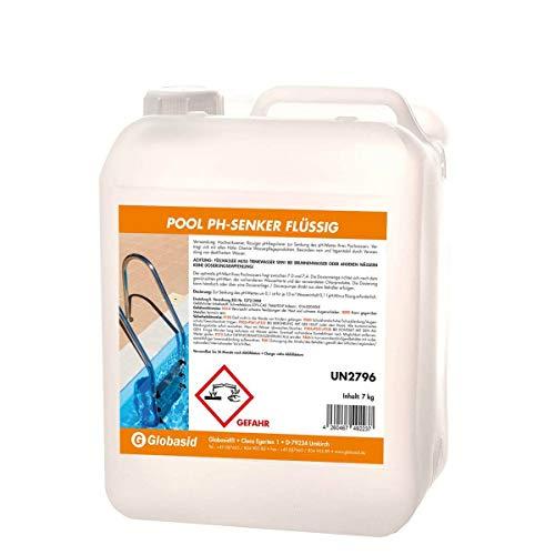 7 kg Kanister pH-Senker flüssig/pH Minus flüssig für Pools