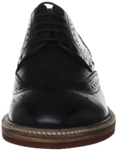 Frank Wright Fry, Brogues homme Noir